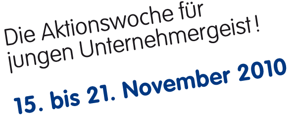 Portal der Global Entrepreneurship Week Deutschland